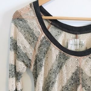 We the Free Chevron Knit Sweater - Size Small